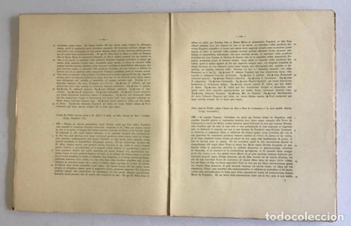 Libros de segunda mano: CARTULARI DE POBLET. Edició del manuscrit de Tarragona. 1938. - Foto 4 - 253248755