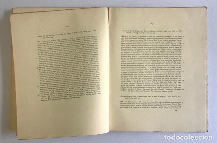 Libros de segunda mano: CARTULARI DE POBLET. Edició del manuscrit de Tarragona. 1938. - Foto 5 - 253248755