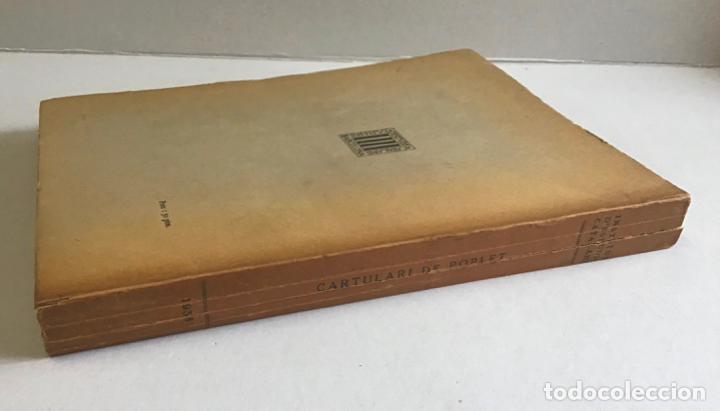 Libros de segunda mano: CARTULARI DE POBLET. Edició del manuscrit de Tarragona. 1938. - Foto 6 - 253248755
