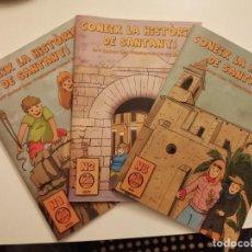 Libros de segunda mano: COL.LECCIO CONEIX LA HISTORIA DE SANTANYI TEXT ANDREU PONC LLORENC GARRIT MALLORCA SANTANYI. Lote 253340760