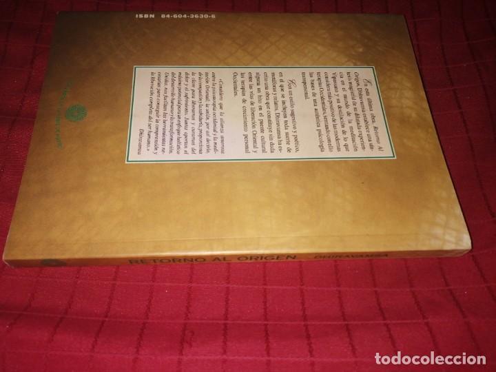 Libros de segunda mano: Dhiravamsa - RETORNO AL ORIGEN - Foto 2 - 253359155