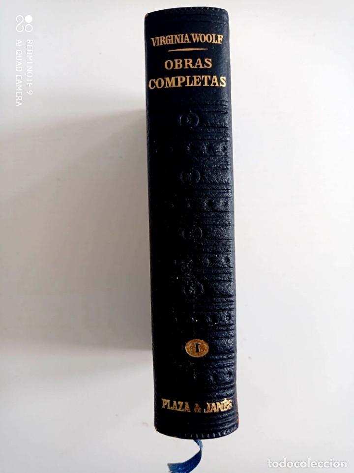 OBRAS COMPLETAS. VIRGINIA WOOLF. PLAZA JANES. (Libros de Segunda Mano (posteriores a 1936) - Literatura - Otros)