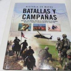 Libros de segunda mano: MALCOLM SWANSTON BATALLAS Y CAMPAÑAS W6415. Lote 253475115