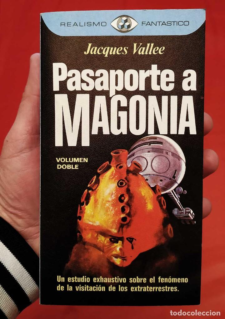 PASAPORTE A MAGONIA. 1ª EDICIÓN. AÑO: 1976. JACQUES VALLE. MUY BUEN ESTADO. EXTRATERRESTRES. (Libros de Segunda Mano - Parapsicología y Esoterismo - Otros)