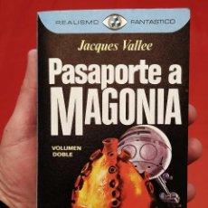 Libros de segunda mano: PASAPORTE A MAGONIA. 1ª EDICIÓN. AÑO: 1976. JACQUES VALLE. MUY BUEN ESTADO. EXTRATERRESTRES.. Lote 253507850