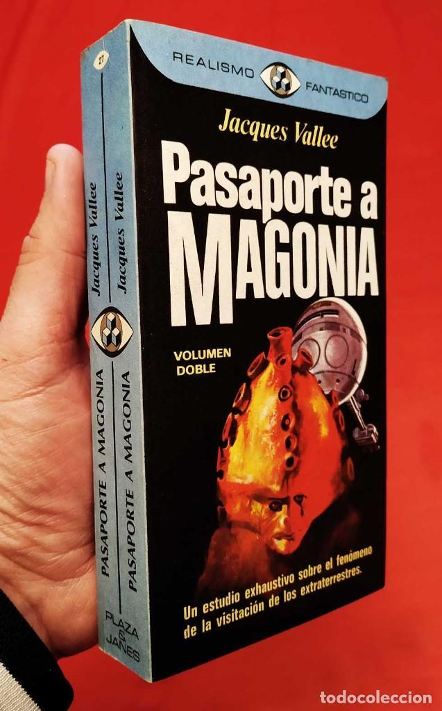 Libros de segunda mano: PASAPORTE A MAGONIA. 1ª EDICIÓN. AÑO: 1976. JACQUES VALLE. MUY BUEN ESTADO. EXTRATERRESTRES. - Foto 2 - 253507850