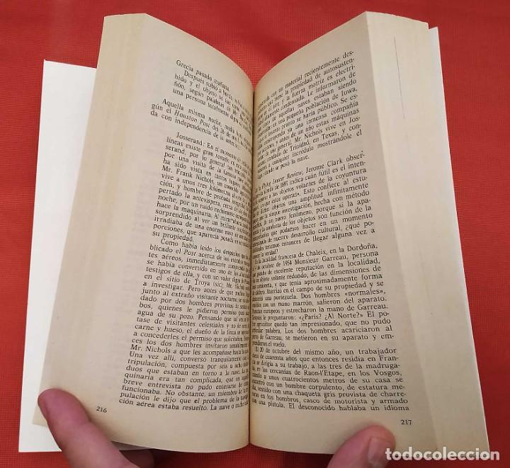 Libros de segunda mano: PASAPORTE A MAGONIA. 1ª EDICIÓN. AÑO: 1976. JACQUES VALLE. MUY BUEN ESTADO. EXTRATERRESTRES. - Foto 4 - 253507850