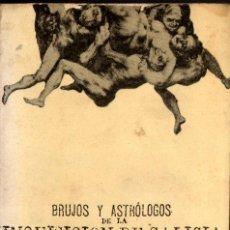 Libros de segunda mano: BARREIRO : BRUJOS Y ASTRÓLOGOS DE LA INQUISICIÓN DE GALICIA Y EL LIBRO DE SAN CIPRIANO (1973). Lote 253513870