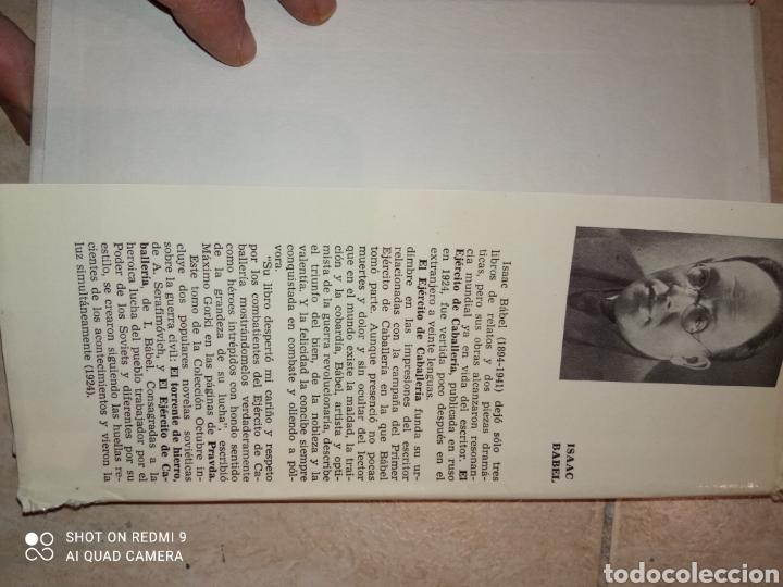 Libros de segunda mano: El Torrente de Hierro Alexandra Serafirmovich y El ejercito de Caballería Isaak Babel - Foto 7 - 253577600