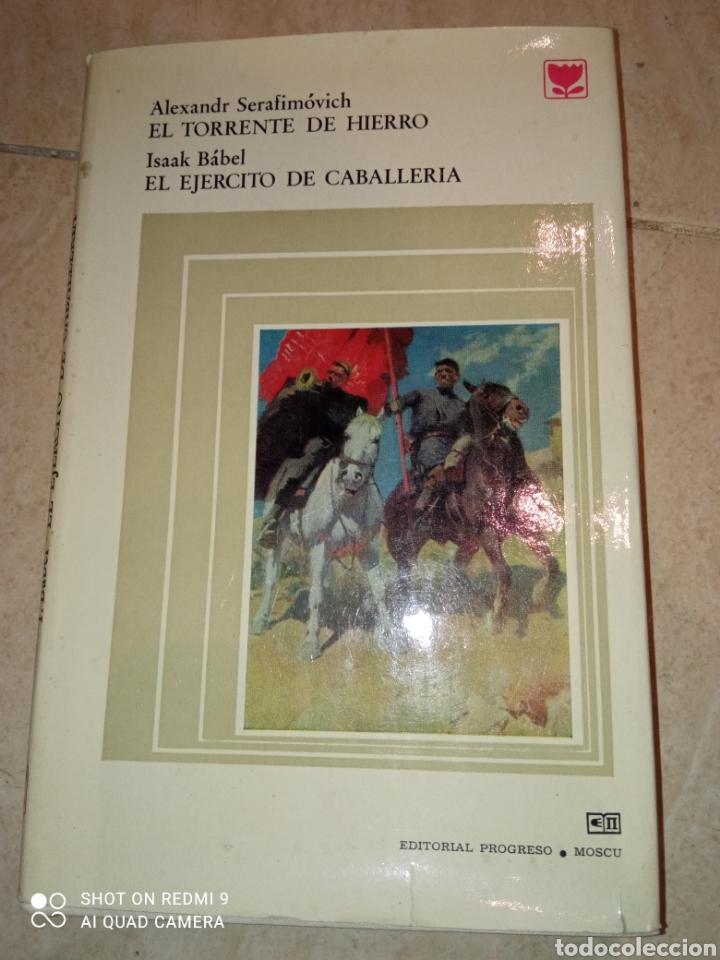 EL TORRENTE DE HIERRO ALEXANDRA SERAFIRMOVICH Y EL EJERCITO DE CABALLERÍA ISAAK BABEL (Libros de Segunda Mano - Historia - Otros)