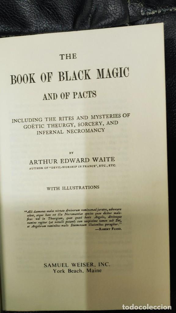 Libros de segunda mano: THE BOOK OF BLACK MAGIC ( ARTHUR EDWARD WAITE ) - Foto 5 - 253808455
