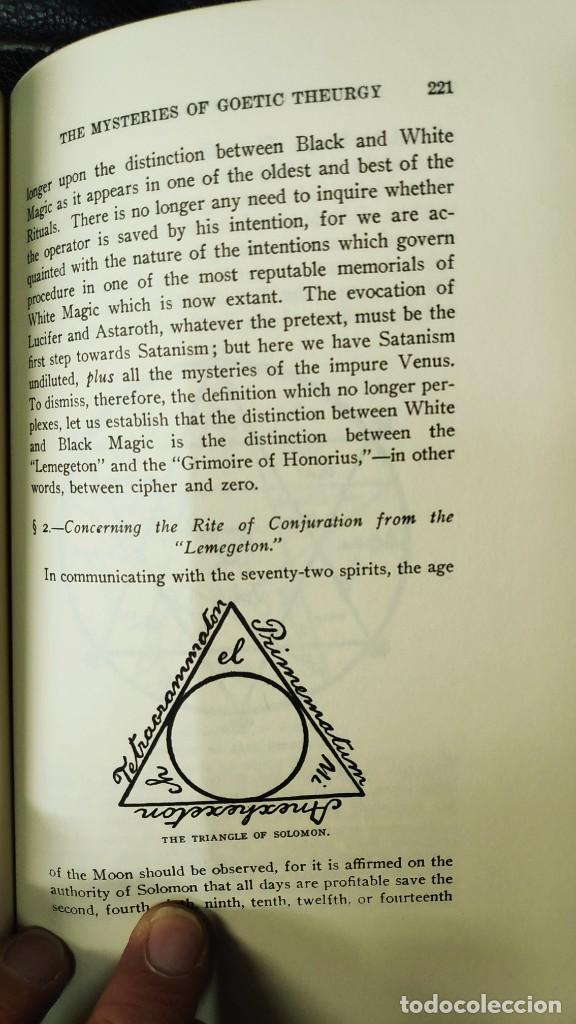Libros de segunda mano: THE BOOK OF BLACK MAGIC ( ARTHUR EDWARD WAITE ) - Foto 7 - 253808455