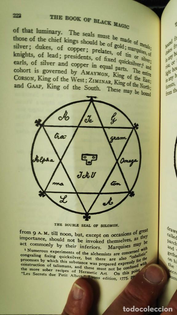 Libros de segunda mano: THE BOOK OF BLACK MAGIC ( ARTHUR EDWARD WAITE ) - Foto 9 - 253808455