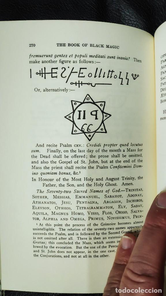 Libros de segunda mano: THE BOOK OF BLACK MAGIC ( ARTHUR EDWARD WAITE ) - Foto 12 - 253808455