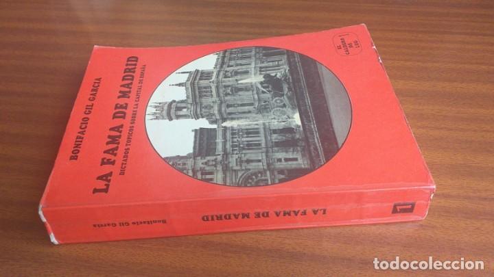 Libros de segunda mano: La fama de Madrid --- Bonifacio Gil García - Foto 2 - 34455976