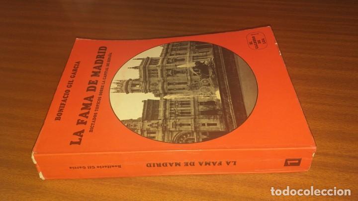 Libros de segunda mano: La fama de Madrid --- Bonifacio Gil García - Foto 3 - 34455976