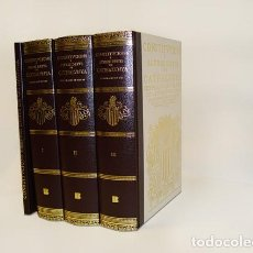 Libros de segunda mano: CONSTITUCIONS I ALTRES DRETS DE CATALUNYA - EDITORIAL BASE 4 VOLUMS NOUS PRECINTATS - NUEVOS. Lote 253892450