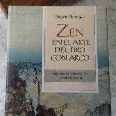 Libros de segunda mano: EUGEN HERRIGEL ZEN EN EL ARTE DEL TIRO CON ARCO 1ª EDICION ILUSTRADA 2008 ARGENTINA BUENOS AIRES. Lote 253922505