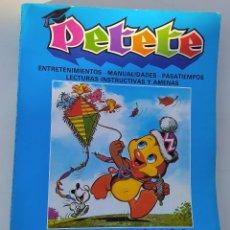 Libros de segunda mano: PETETE APRENDE JUGANDO. Lote 253956625
