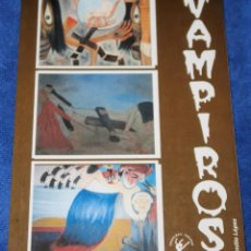 Libros de segunda mano: VAMPIROS - EMILIO LÓPEZ - EDICIONES CALIPSO. Lote 254038935
