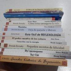Libros de segunda mano: LOTE 17 LIBROS AUTOAYUDA - FENG SHUI MANDALAS REFLEXOLOGÍA TAICHI SUPERACIÓN Y MÁS - NUEVOS. Lote 254147750