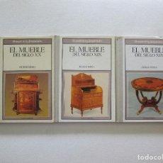 Libri di seconda mano: EL MUEBLE DEL SXIX Y SXX: MODERNISMO, INGLATERRA Y OTROS PAISES. Lote 254159515