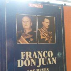 Libros de segunda mano: FRANCO DON JUAN. LOS REYES SIN CORONA. RICARDO DE LA CIERVA. EDITA DIFUSORA DE INFORMACIÓN PERIÓDICA. Lote 254207545