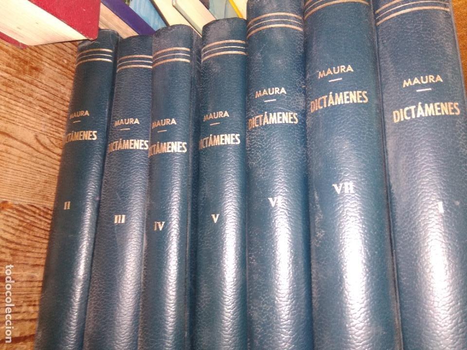 Libros de segunda mano: Dictámenes, A. Maura. (Tomos I, II, III, IV, V, VI, VII). L.5798-1469 - Foto 2 - 254254415
