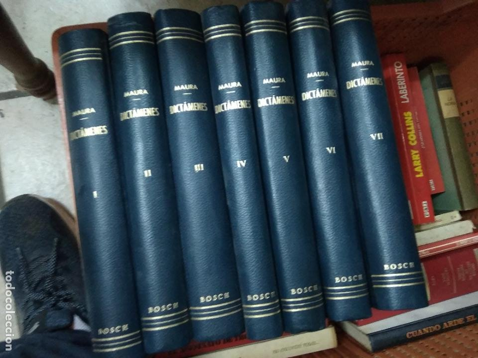 Libros de segunda mano: Dictámenes, A. Maura. (Tomos I, II, III, IV, V, VI, VII). L.5798-1469 - Foto 3 - 254254415