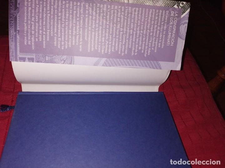 Libros de segunda mano: Santiago Camacho - La conspiración de los Illuminati - Foto 2 - 254278570