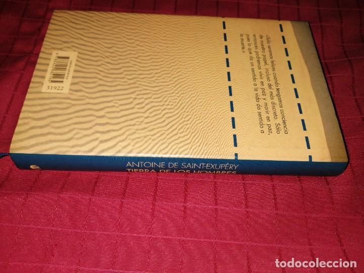 Libros de segunda mano: ANTOINE DE SAINT-EXUPÉRY - TIERRA DE LOS HOMBRES - Foto 2 - 254278880