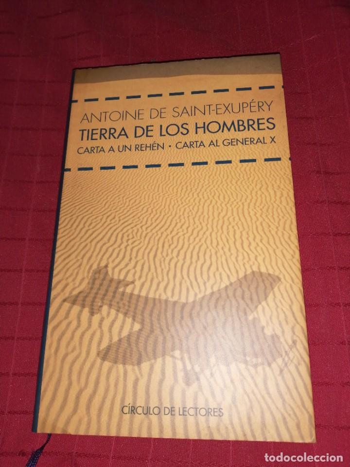 ANTOINE DE SAINT-EXUPÉRY - TIERRA DE LOS HOMBRES (Libros de Segunda Mano (posteriores a 1936) - Literatura - Otros)