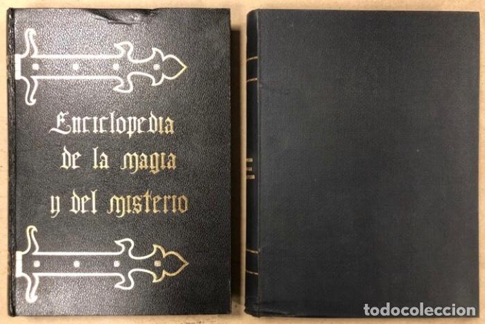 ENCICLOPEDIA DE LA MAGIA Y DEL MISTERIO (2 TOMOS). EDITORIAL MATEU (1969). TAPAS DURAS. ILUSTRADOS. (Libros de Segunda Mano - Parapsicología y Esoterismo - Otros)