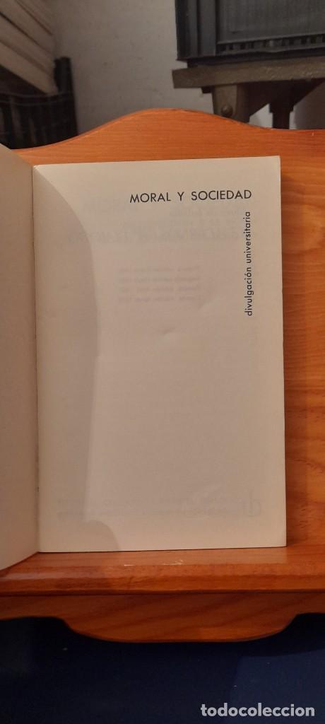 Libros de segunda mano: MORAL Y SOCIEDAD - LA MORAL SOCIAL ESPANOLA EN EL SIGLO XIX - Foto 7 - 254374580