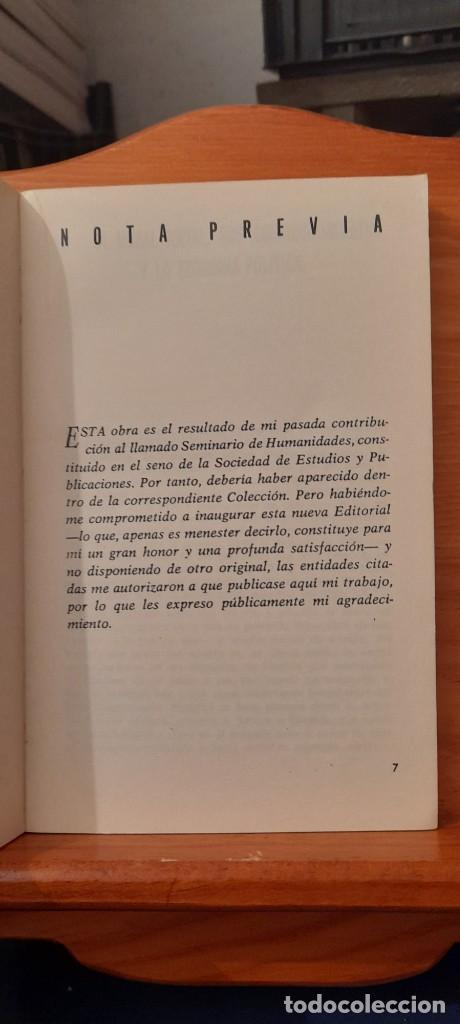 Libros de segunda mano: MORAL Y SOCIEDAD - LA MORAL SOCIAL ESPANOLA EN EL SIGLO XIX - Foto 11 - 254374580