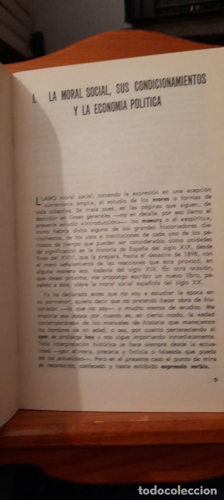Libros de segunda mano: MORAL Y SOCIEDAD - LA MORAL SOCIAL ESPANOLA EN EL SIGLO XIX - Foto 12 - 254374580