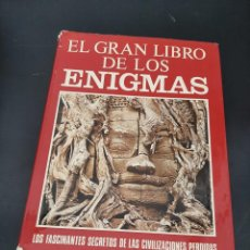 Libros de segunda mano: EL GRAN LIBRO DE LOS ENIGMAS. Lote 254448310