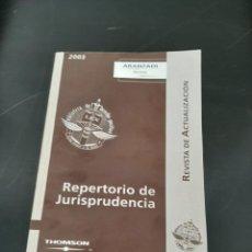 Libros de segunda mano: REPERTORIO DE JURISPRUDENCIA. Lote 254449595