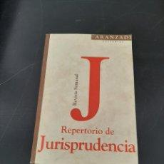 Libros de segunda mano: REPERTORIO DE JURISPRUDENCIA. Lote 254451310