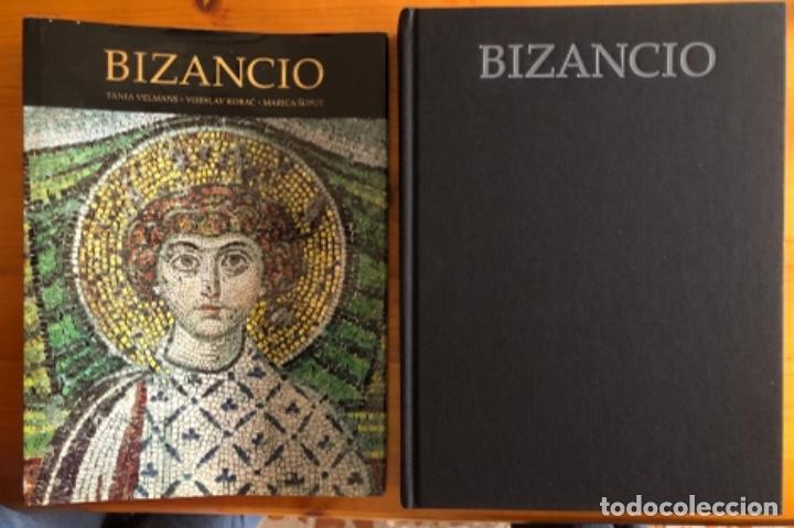 BIZANCIO- EL ESPLENDOR DEL ARTE- TANIA VELMANS- LUNWERG- 1999 (Libros de Segunda Mano - Bellas artes, ocio y coleccionismo - Otros)
