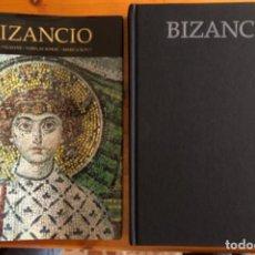 Libros de segunda mano: BIZANCIO- EL ESPLENDOR DEL ARTE- TANIA VELMANS- LUNWERG- 1999. Lote 254487885