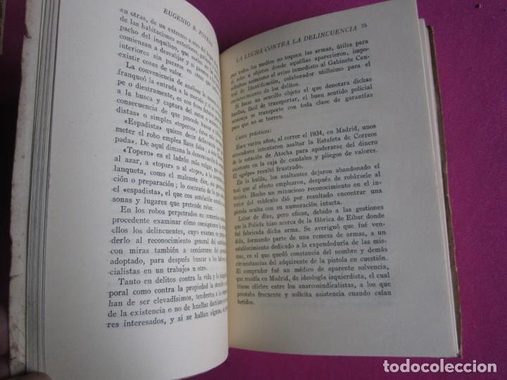 Libros de segunda mano: LA LUCHA CONTRA LA DELINCUENCIA EUGENIO B POVEDA 1953 - Foto 3 - 254517920