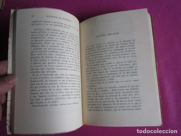 Libros de segunda mano: LA LUCHA CONTRA LA DELINCUENCIA EUGENIO B POVEDA 1953 - Foto 4 - 254517920