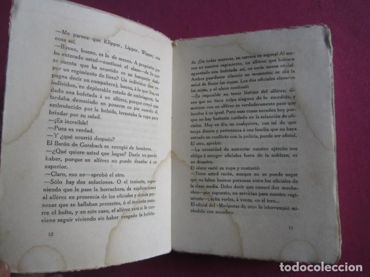 Libros de segunda mano: LAS MARIPOSAS DE ORO EJERCITO ALEMAN BARON VON SCHLICHT 1915 - Foto 4 - 254520420