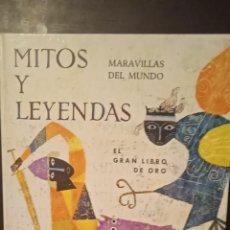Libros de segunda mano: MITOS Y LEYENDAS- MARAVILLAS DEL MUNDO. A. T. WHITE. Lote 254625975