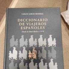 Libros de segunda mano: DICCIONARIO DE VIAJEROS ESPAÑOLES. DESDE LA EDAD MEDIA A 1970. GARCÍA-ROMERAL, CARLOS.. Lote 254626605