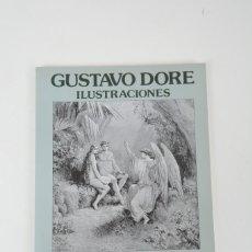 Libros de segunda mano: GUSTAVO DORE ILUSTRACIONES EL PARAÍSO PERDIDO EDITORIAL MATEOS. Lote 254685625