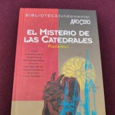 Libros de segunda mano: EL MISTERIO DE LAS CATEDRALES - AÑO CERO - AÑO 1994 - 206 PAGINAS. Lote 254696945