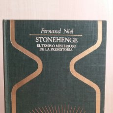 Libros de segunda mano: STONEHENGE. FERNAND NIEL. PLAZA Y JANÉS, OTROS MUNDOS, PRIMERA EDICIÓN, 1976.. Lote 254715370
