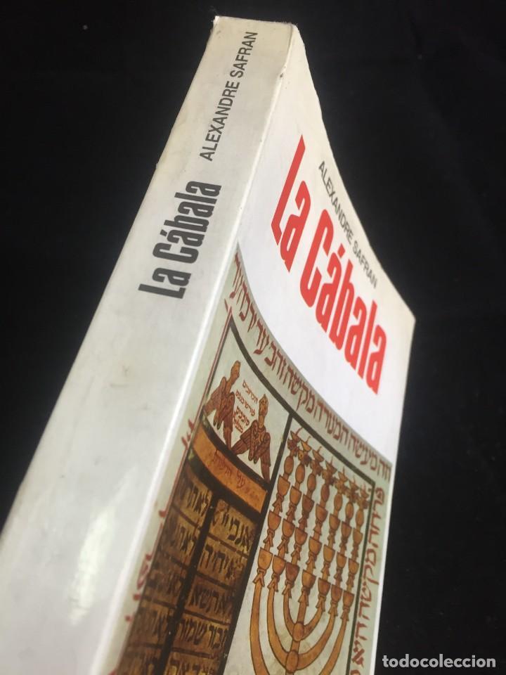 Libros de segunda mano: La Cábala de Alexandre Safran, La otra Ciencia, Martínez Roca. 1976 - Foto 2 - 254724550